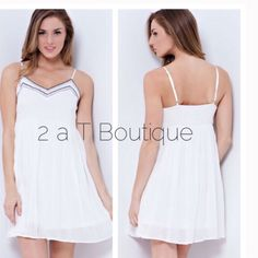 Sale  Beaded Sporty Baby Doll Dress