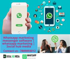 Bulk Whatsapp marketing software has multiple functions can increase advertising and promote your business. Learn more Whatsaap marketing messenger Whatsapp Marketing, Marketing Software, Promote Your Business, Advertising, Android, Product Launch, Learning, Tips, Image