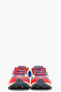 STRADA Blue Mesh Terra Ampezzo Special Sneakers