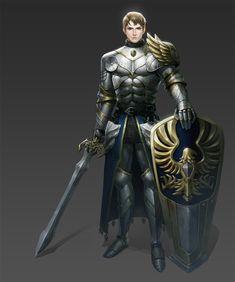 ArtStation - kingdom knight, HARAM G