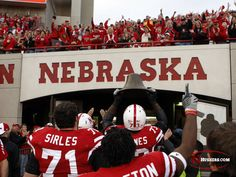 Nebraska Cornhuskers...gotta support my boy and his school :) cant wait for trips to Nebraska to see him and watch football games!