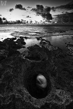 Photography by Aaron Feinberg - Down the Rabbit Hole (Oahu, Hawaii). ☀