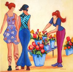 painting by carolee s clark
