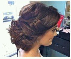 Beautiful bridal hair style ;)