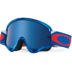 Oakley O Frame Goggles - Heritage Racer Red White Blue Iridium