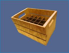 Beer Crate Plans by BeerClings.com