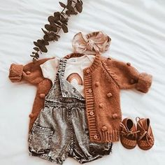 Baby Outfits For Girls Fall Children Ideas Baby Girl Fashion, Toddler Fashion, Kids Fashion, Little Babies, Cute Babies, Baby Kids, Baby Baby, Toddler Girls, Little Girls