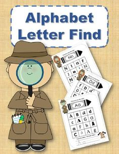 Use as you are presenting the letter and its different forms. Each letter of the alphabet has its own page. Each page has the upper and lower case letter at the top of the page. There is a search grid with 12 letters. Alphabet Board, Alphabet Crafts, Alphabet Activities, Literacy Activities, Learning Resources, Alphabet Worksheets, School Resources, Teaching Toddlers Abc, Preschool Education