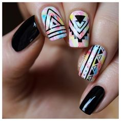 30 Top Trendy Inspiring Instagram Nail Design 2015/16 XMAS | Fashion Te