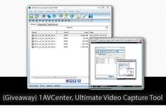 {Giveaway} 1AVCenter, Ultimate Video Capture Tool