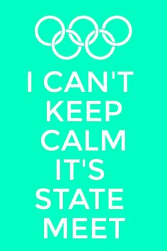 Keep calm state meet