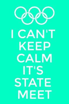 Keep calm state meet