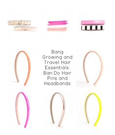 Weekend Edition: Ban.do | Color Me Styled | Growing out bangs in style with @shopbando