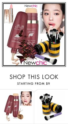 """Newchic 29."" by belma-cibric ❤ liked on Polyvore featuring beauty"
