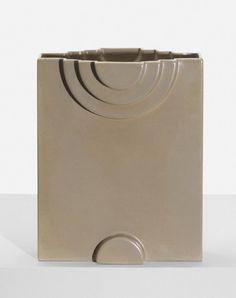 Vase from the Yantra series, model Y35, Bitossi for Design Centre / Poltronova  Italy, 1969, Glazed signature to underside: [Sottsass Y/35]. Literature: Ettore Sottsass: Tutta la Ceramica, Ferrari, pg.176 / Ettore Sottsass Jr.: Designer, Artist, Architect, Hoger, pg.172