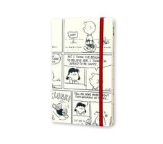 18 months - Peanuts - Weekly Notebook Planner - Large - hard cover Colored Paper, Moleskine, Notebook, Cover, 18 Months, Paper Weights, Peanuts, Slipcovers, Blanket