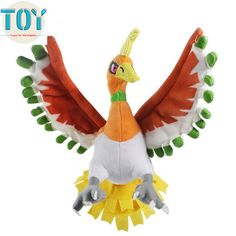 Find More Movies & TV Information about New Pokemon Ho Oh Cartoon Toys Kids Gifts Plush Doll Anime Baby Juguetes Peluches Brinquedos 27cm with Tracking,High Quality toy gift box,China toy Suppliers, Cheap toy pyramid from Toys in the Kingdom on Aliexpress.com