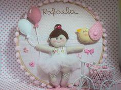 Decoração de quarto de bebê | Ateliê Fofuras De Alegria | 28839C - Elo7