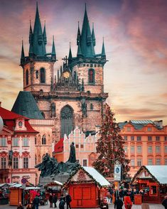 Prague, Czech Republic Czech Republic by on IG. Monuments, Places To Travel, Places To See, Travel Around The World, Around The Worlds, Watercolor Architecture, Prague Travel, Prague Czech Republic, City Landscape