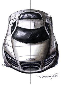Car Sketch I D Drawing Pinterest Audi Cars And Audi R8