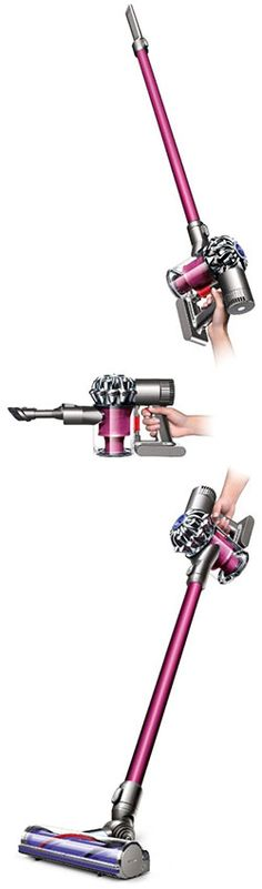 #1 Best Handheld Vacuum of 2015 - click to see the full review of the Dyson DC59 Motorhead Cordless rechargeable vac