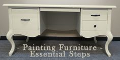 most important steps when painting furniture