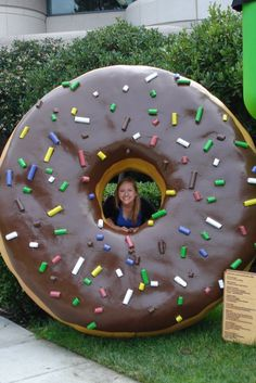 Giant donut at Google. We deliver advertising campaigns throughout the UK and Europe, but we also welcome enquiries from around the globe too! For all of your advertising needs at unbeatable rates - www.adsdirect.org.uk