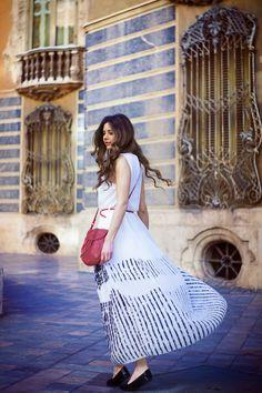 #maxidress #dress #white