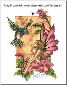 Fairy Art Artist Amy Brown: The Official Online Gallery. Fantasy Art, Faery Art, Dragons, and Magical Things Await. Elves Fantasy, Fantasy Art, Brown Canvas Art, Brown Art, Amy Brown Fairies, Dark Fairies, Fairy Paintings, Fairy Pictures, Fairy Coloring