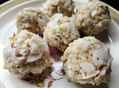 Coconut, almonds, coconut oil and honey rolled together to make a salty-sweet raw dessert! With a chocolate option, too!