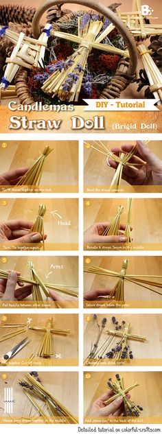 How to make a Brigid Doll (Straw Doll)
