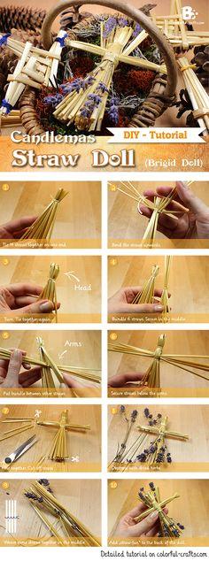 How to make a Brigid Doll (Straw Doll)