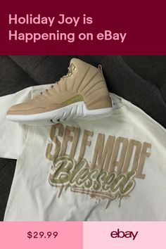 new arrival fe248 ac501 Shirt Match Jordan 12 Vachetta Tan - Self Made Tee