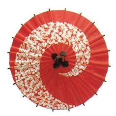 Japanese Decorative Mini Paper Umbrella Bangasa with Beautiful Print: Flower Red Japanese Quilt Patterns, Japanese Quilts, Japanese Party, Japanese House, Japanese Style, Halloween In Japan, Asian Bedroom, Asian House, Paper Umbrellas