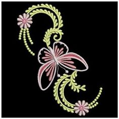 Wind Bell Embroidery Embroidery Design Pack: Small