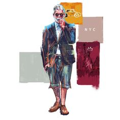 SEUNG WON HONG - SEUNGWON HONG x SILHOUETTED SKYLINE / New York...