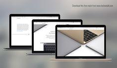The New MacBook Mockup on Behance