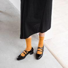 1908BLA48776 (9) Block Heel Loafers, Shoes Heels Pumps, Thick Heels, Toe Shape, Patent Leather, Shoe Bag, Bags, Fashion, Shoes