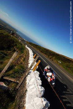 Just over an week to go!! Isle of Man TT Races 2013. John McGuinness TT  Mind your head. (Dan Lo).