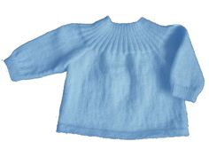 BRASSIERE BLEUE TAILLE NAISSANCE, TROIS ET SIX MOIS.. - Mamyveline's blog Tricot Baby, Baby Cardigan, Baby Hats, Crochet Baby, Couture, Blog, Knitting, Pattern, Sweaters
