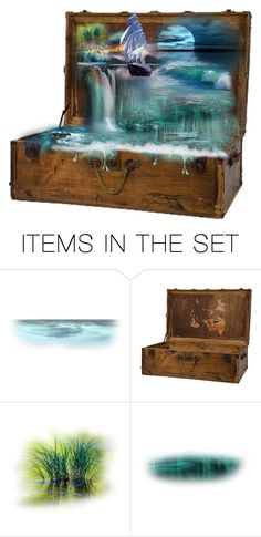 """""""The gift and magic of the Ocean"""" by keva-odom ❤ liked on Polyvore featuring art"""