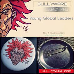 The Official GULLYWARE Blog: GULLYWARE® LEGACY PINS RELEASE DATE