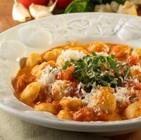 Gnocchi with Spicy Tomato and Wine Sauce - Olive Garden recipes (could even make with regular pasta)