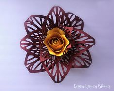 This is the Anastasia backdrop/ Large (compared to the original bouquet size) paper flower template. One flower is about 13-14 in inches in diameter Link the video tutorial for the backdrop flower version provided in the brief :) (Please do read the brief first, all info are