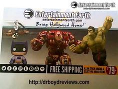 Entertainment Earth is a worldwide retailer with a popular website and print catalog.  Founded online in 1996 and based in Simi Valley, California, they offer an ever-expanding selection of tens of thousands of licensed products ranging from action figures, toys, and gift items to high-end limited edition pieces and hard-to-find collectibles.  Visit their website and see all the memorabilia that your Walmart Stors do not carry.  I really enjoy advertising the products Entertainment Earth…