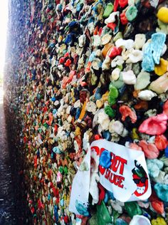 Fun gum wall in Monterey