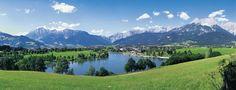 #Bergsee in der Nähe von Leogang.
