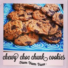 Chewy Chocolate Chunk Cookies #PrimalBliss