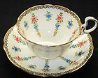 Aynsley Rose-N-Wreath  Tea cup and saucer Teacup