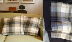 Ralph Lauren Tartan Pillows - Duncanston Plaid